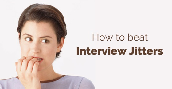 overcoming interview jitters