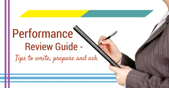 Writing annual review tips