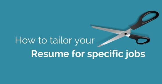 resume tailoring