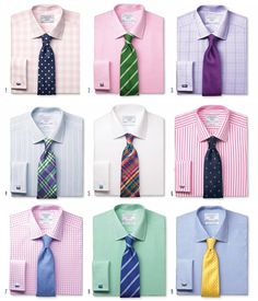shirt color for interview