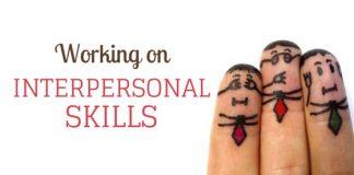 working on interpersonal skills