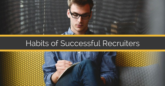 Habits of successful recruiters