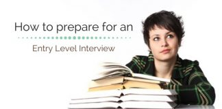 entry level interview preparation