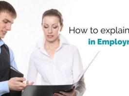 explain gap in employment