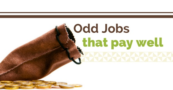 high paying odd jobs