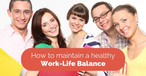 how to get work life balance