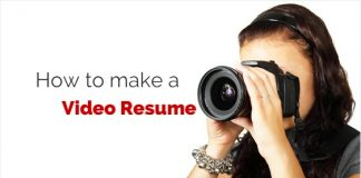 how to make video resume