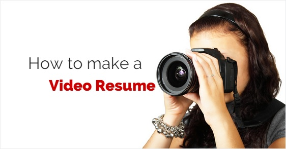 how to make a video resume attractive