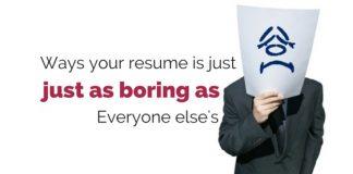 ineffective resume