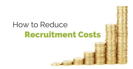 reducing recruitment costs