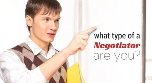 type of negotiator are you
