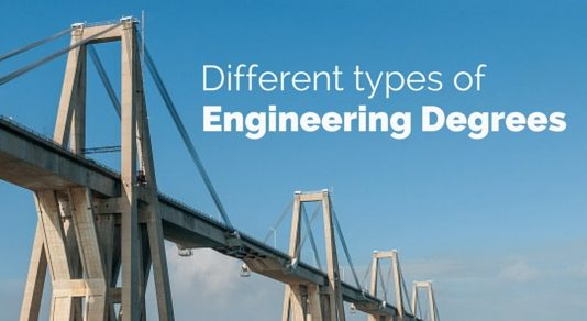 types of engineering degrees