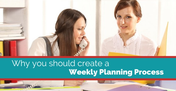 weekly planning process