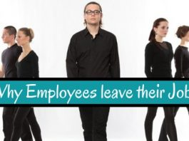 why employees leave jobs