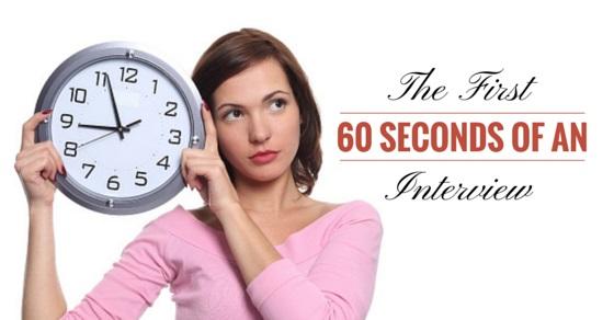 60 seconds interview