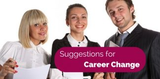 Suggestions for Career change