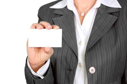 attach business card