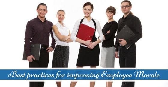 best practices for improving employee morale