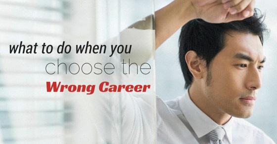 choosing the wrong career
