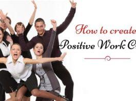 create positive work culture