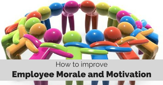 how to build morale in the workplace