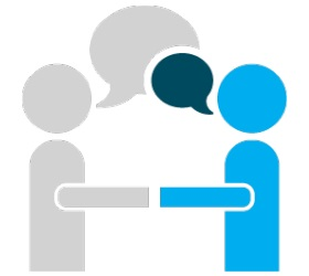 face to face conversation employee