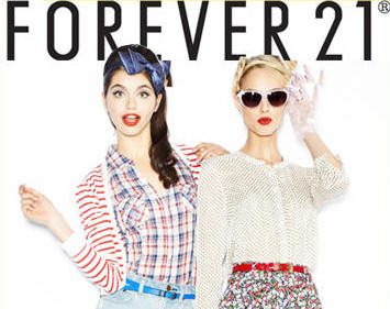 forever 21 looking models