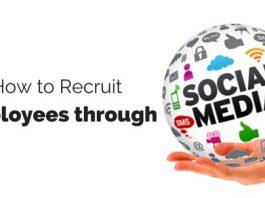 how to recruit through social media