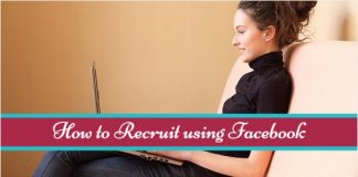 how to recruit using facebook