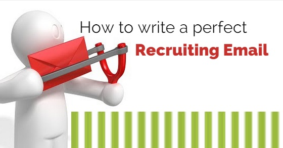 how to write recruiting email