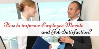 improve employee morale and job satisfaction