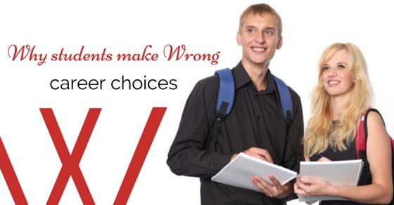 making wrong career choices