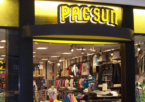 PacSun Employee: The discount. You get 50% off everything that's not on sale, and if you get a sale item, you get 10% off of it. You get 50% off everything that's .