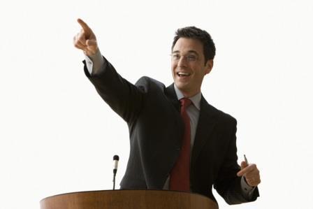 public speaking body language