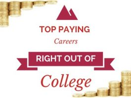top paying careers out college