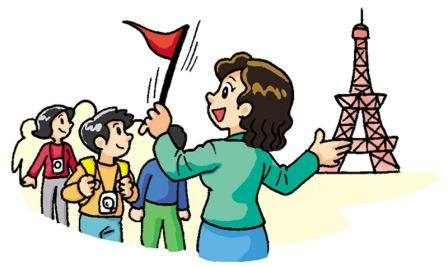 tour guide job