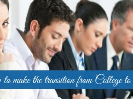 transition from college to career