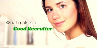 what makes good recruiter