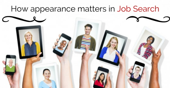 appearance in job search
