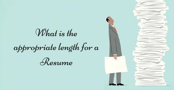 What Is The Appropriate Length For A Resume? 10 Ideal Tips - Wisestep