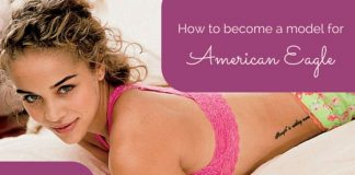 become model american eagle
