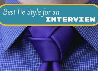 best tie style interview