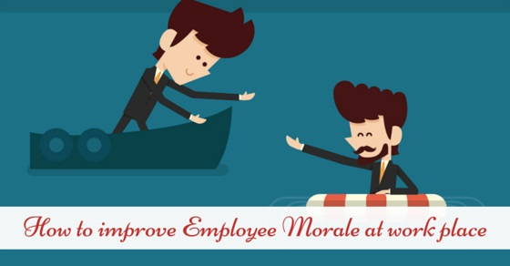 employee or staff morale at workplace
