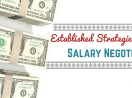 established strategies for salary negotiations