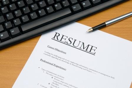 how align your resume