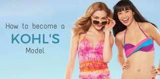 how become kohl's model