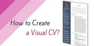how create visual cv