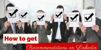 how get recommendations linkedin