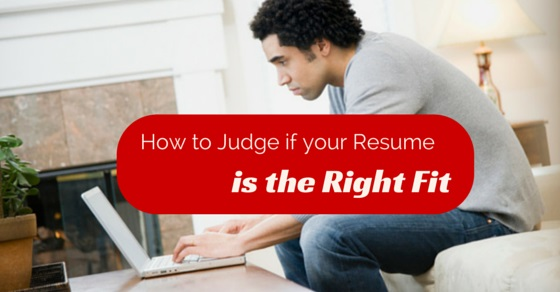 how to judge resume