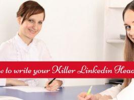 how to write linkedin headline